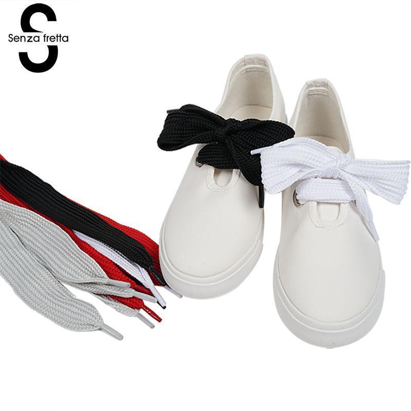 79fa17babfd55 Compre Senza Fretta Zapatos De Cordones Anchos Zapatos Al Por Mayor Zapatos  Anchos Y Gruesos Cordones De Los Zapatos Cordones De Los Zapatos Bowtie ...