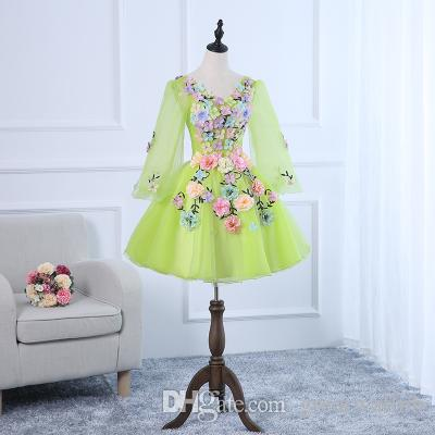 ef4af13fc2b3 Free Ship Short Lolita Alice Cosplay Flowers Petals Fairy Short Ball Gown  Medieval Dress Renaissance Gown Queen Victorian/Belle Ball Team Costumes  For ...