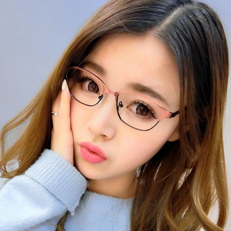 669601618e Occhiali Cubojue con occhiali trasparenti Occhiali da vista da donna  Montatura da uomo Lenti senza prescrizione per occhiali ottici No Power  Metal