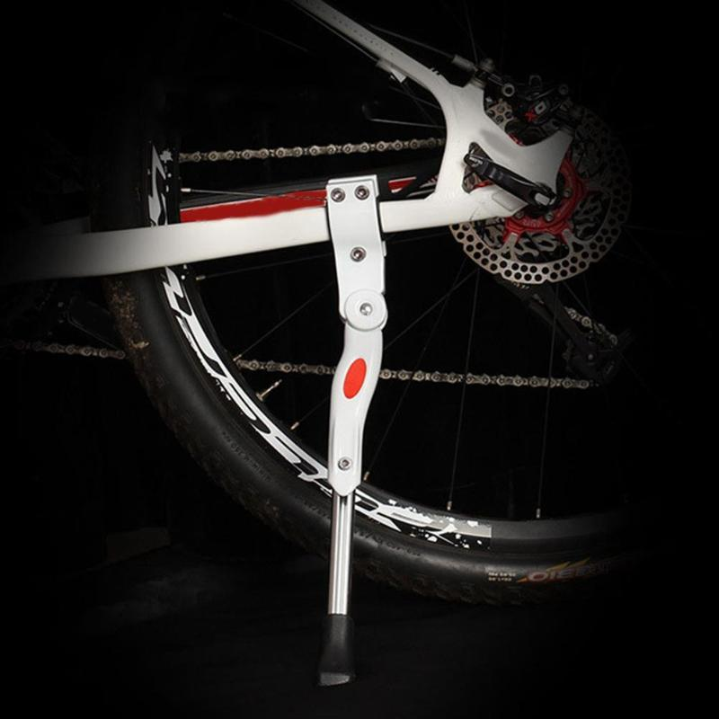 Adjustable MTB Road Bicycle Kickstand Parking Rack Support Side Kick Stand Foot Brace Cycling Parts 34.5-40cm Bike Holder
