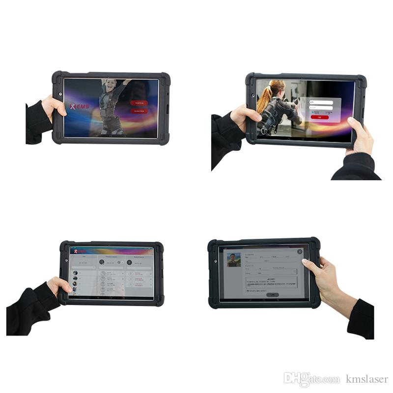 Yeni ürün Ems taşınabilir kas uyarıcısı Kablosuz EMS Eğitim elbise jimnastik salonu kullanımı makinesi