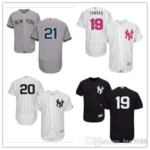 2019 Custom Men S Women Youth Yankees Jersey  17 Matt Holliday 18 Didi  Gregorius 13 Alex Rodriguez Home White Gray Kids Girls Baseball Jerseys  From Bin5088 461fcc03520