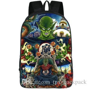 Piccolo Boss Backpack Dragon Ball Day Pack Jr Devils School Bag ... 234a41ca5e926