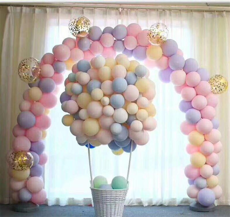 Round wedding decoration latex balloon Aluminium Foil Number Balloons Birthday Wedding Engagement Party Decor Globo Kids Ball Supplies