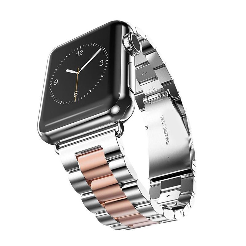 90e63633d LISCN Stainless Steel Strap For Apple Watch Band Series 4 44mm 40mm ...