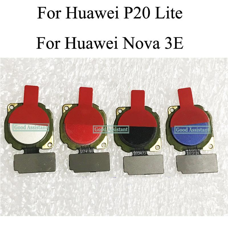 Fingerprint Scanner For Huawei P20 Lite / For Huawei Nova 3E Touch Sensor ID Home Button Return Assembly Flex Cable