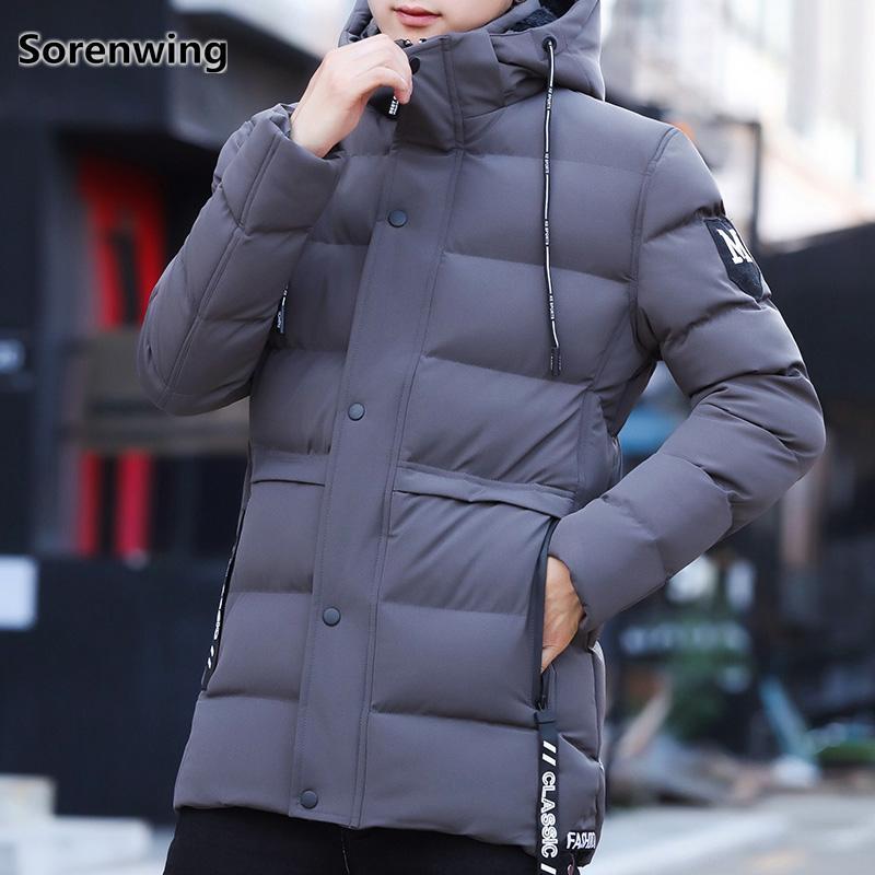 Men's Clothing Devoted Mens Casual Hooded Coat Slim Jacket Overcoat Thin Windbreaker Hoodie Zipper Up Warm And Windproof