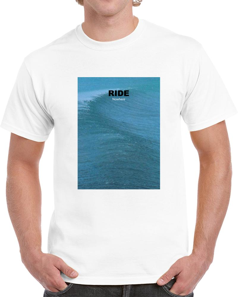 New Ride Nowhere Band Shoegaze Slowdive MBV T shirt White All Sizes RETRO  VINTAGE Classic t-shirt