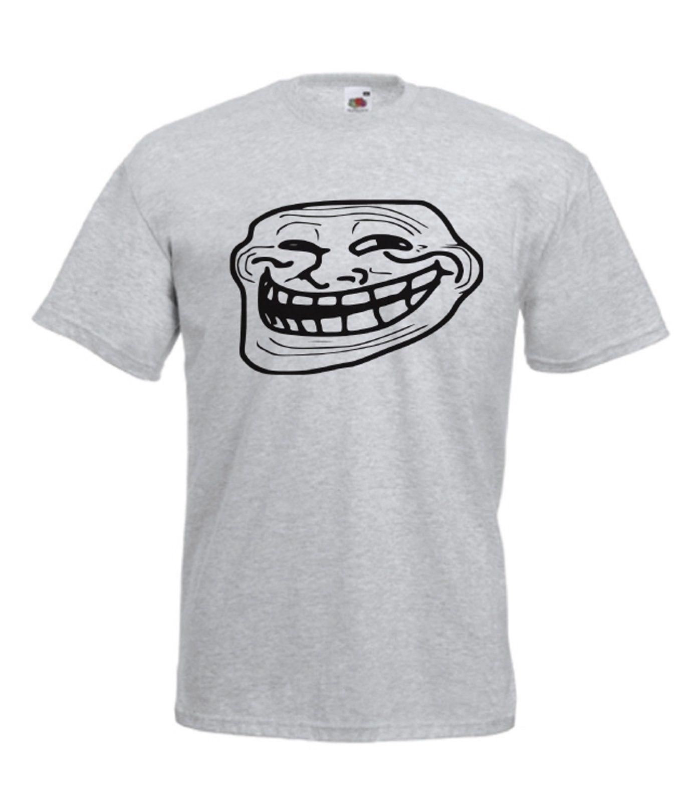 MEME Funny TROLL Nerd FACE NEW Xmas Birthday Gift Ideas Mens Womens T SHIRT TOP Thirts Og Shirt From Capable72 1645