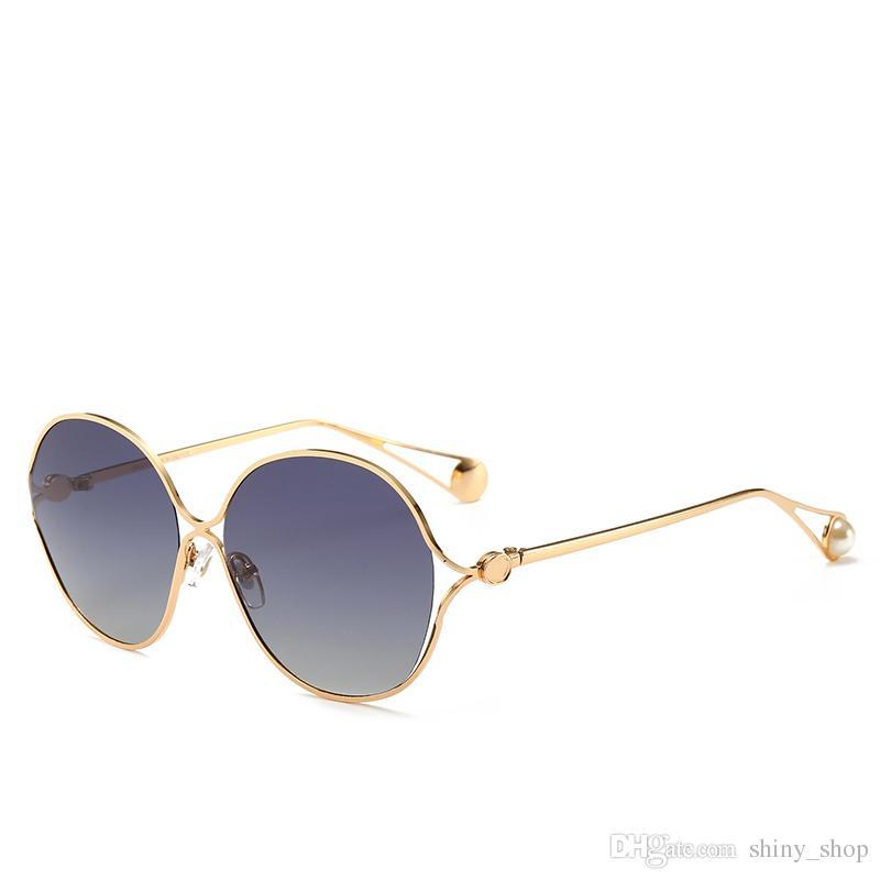 b166919ac7 Compre Gucci GGes Gafas De Sol Populares Gafas De Moda Gafas De Sol Con  Montura Grande Gafas De Sol De Marca Para Hombres Y Mujeres Gafas De Sol  Baratas A ...
