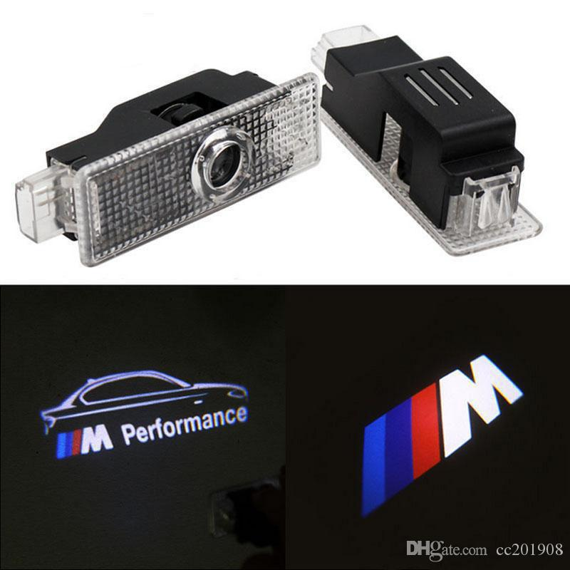 For BMW F30 E60 E90 E92 E93 F20 Z4 X1 X6 GT M3 M5 M Performance Logo Car LED Door Welcome Light