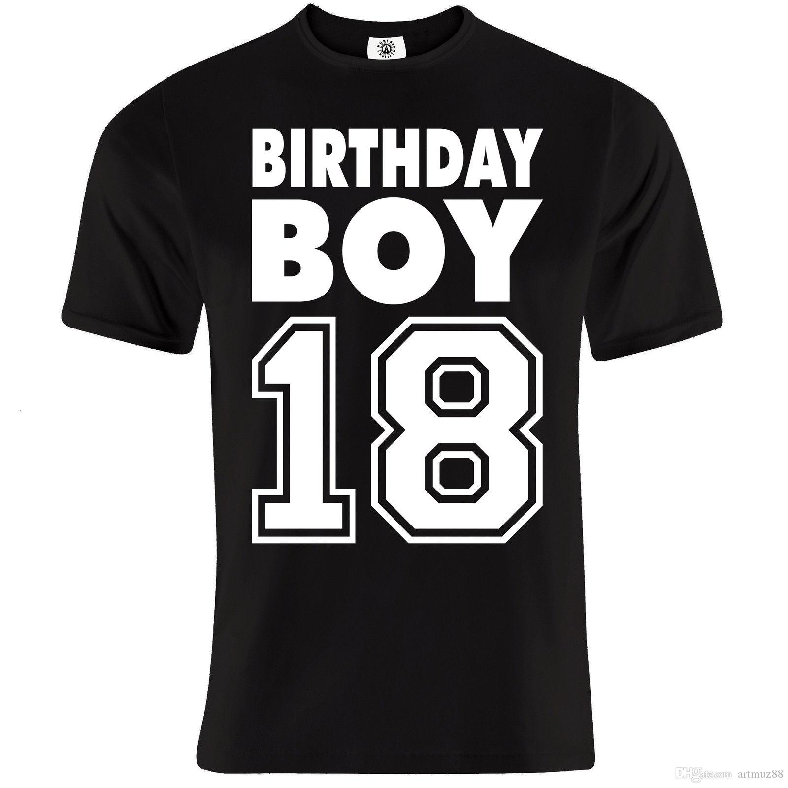 Mens Significant 18th To 50th Birthday Coming Of Age Gift Celebration T Shirt Quality Shirts Slogans From Artmuz88 1076