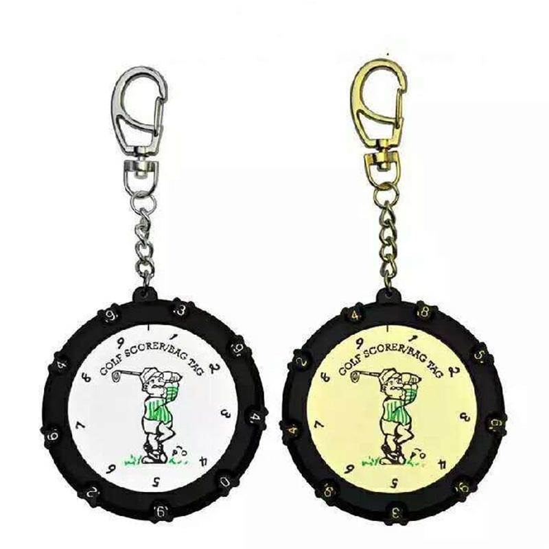 Round Golf Score Indicator Count 18 Holes High Quality Counters Small Portable Creative Simple Fashion Key Chain 5 8xxD1