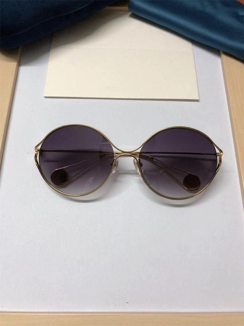 d0ef6c2f57 2019 Vinatge Round Sunglasses Luxury Women Brand Designer Full Frame Pearls  Glasses High Quality UV Protection Gradient Eyewear With Package Eyeglasses  ...