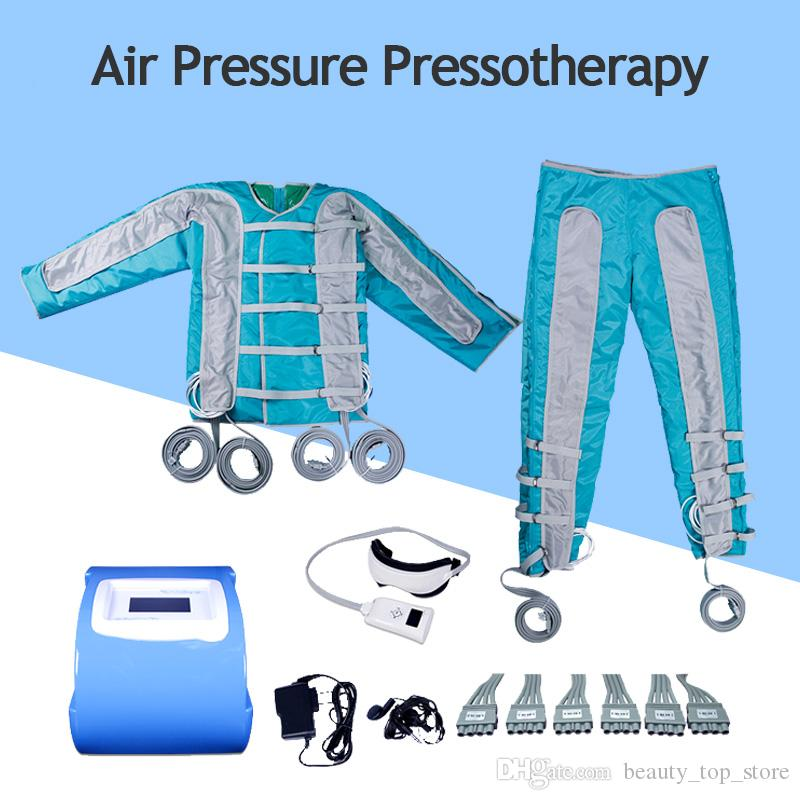 Air Pressure Pressotherapy Lymphatic Drainage Machine With 24 Air Bags For  Whole Body Eye Massage Body Slimming Weight Loss Machine