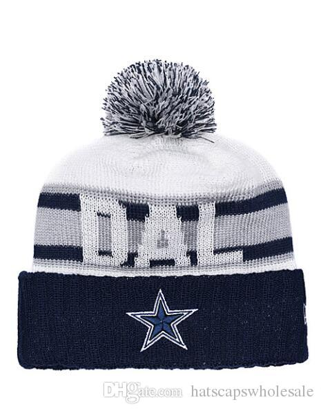 2019 2019 Fashion Dallas Cowboys Winter Cuffed Knit Hats For Men Women  Unisex Adults Wool Skullies Hat Beanies Casual Warm Caps From  Hatscapswholesale 1b995dd0c