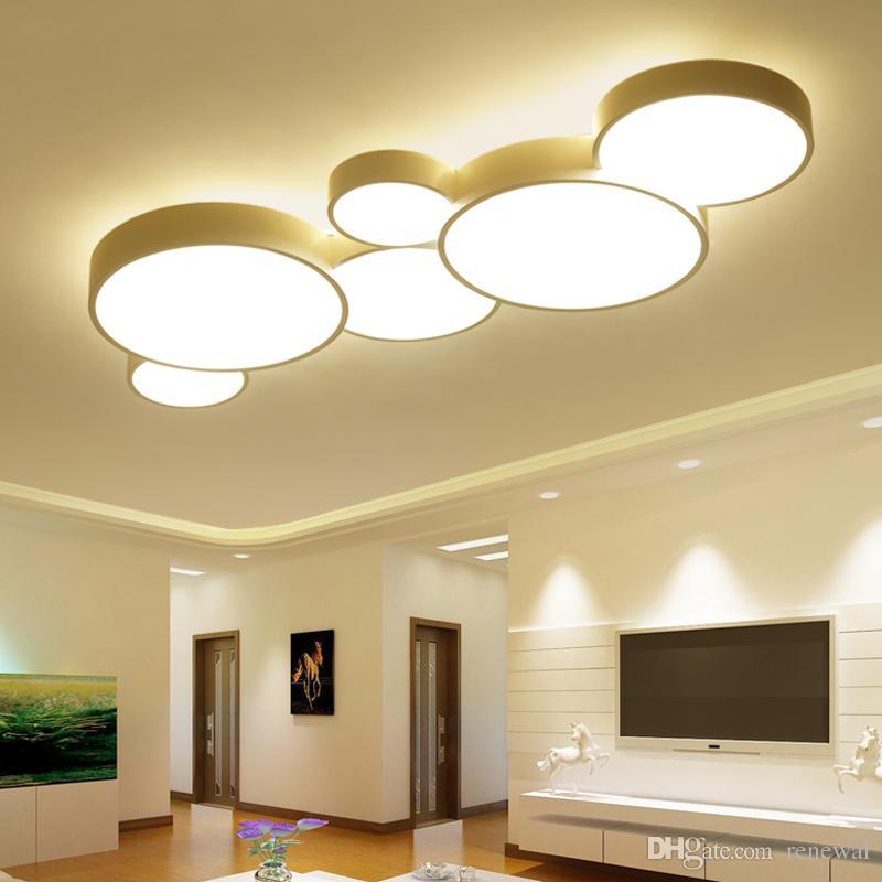 Deckenleuchten & Lüfter Licht & Beleuchtung 1 Pc Led Decke Licht Ultra Dünne 24 W Moderne Lampe Wohnzimmer Beleuchtung Leuchte Schlafzimmer Küche Oberfläche Montieren Flush Panel Schalter