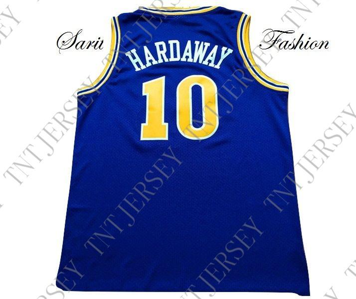 online retailer 271a2 d0ff4 Cheap custom Tim Hardaway Retro Basketball Jersey #10 Blue Stitched  Customize any name number MEN WOMEN YOUTH JERSEY XS-5XL