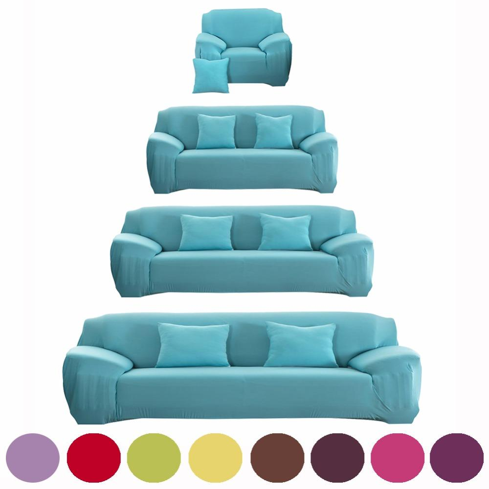 Sofa Cover Flexible Stretch Big Elasticity Couch Cover Sofa Funiture For  Single Two Three Four Seats Soft Flannel Slipcove