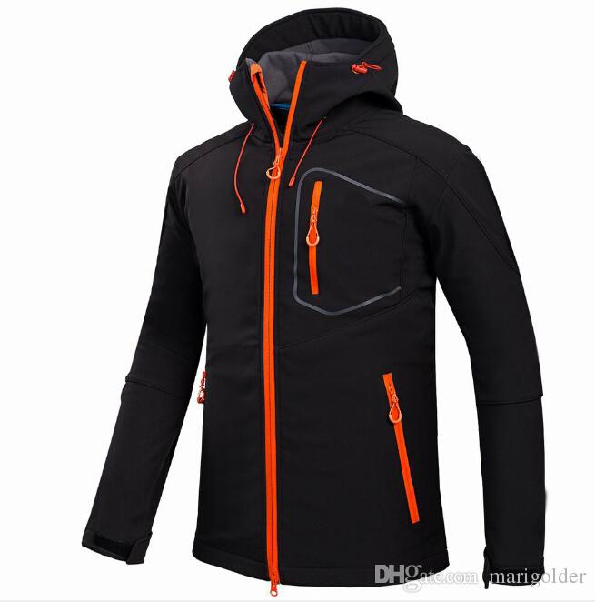Outdoor Jackets men's outdoor camping leisure sports jacket soft shell jacket windbreaker mountaineering suit