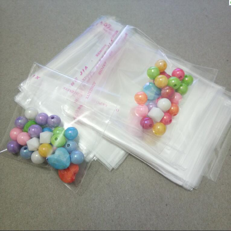 10 kinds size OPP Transparent Jewelry package Bag Self Adhesive Seal Plastic Bags Clear Cellophane Bag Gift Bags