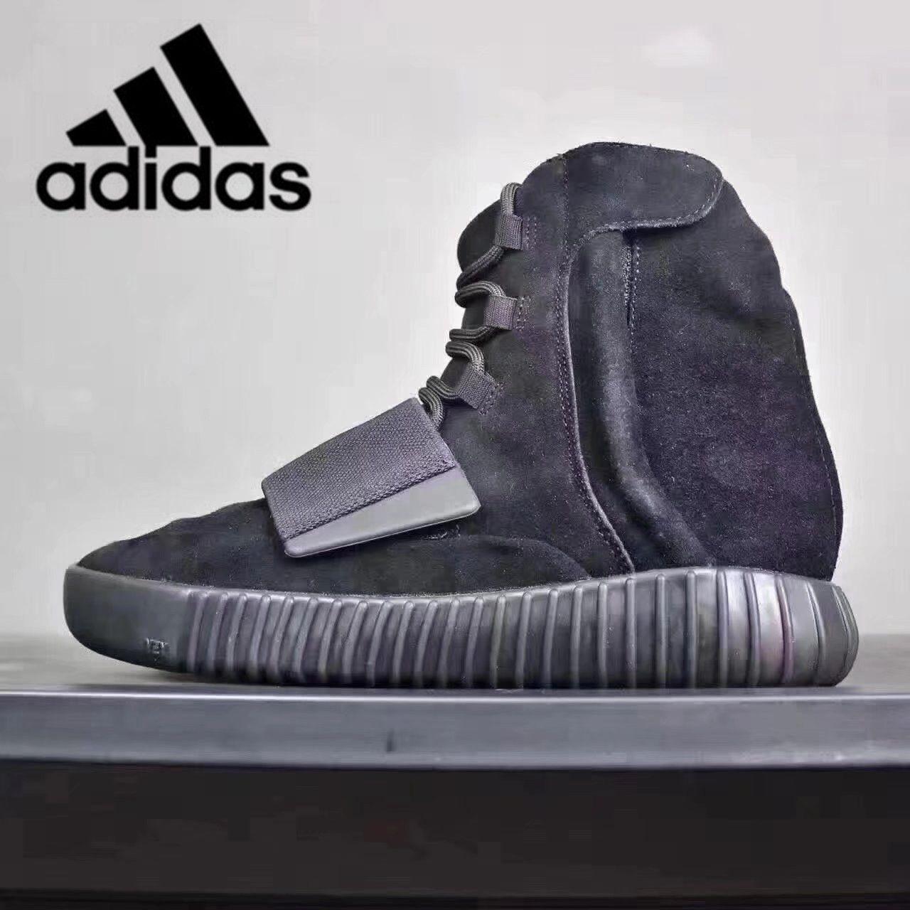 0abac87b3 2019 Original Air Yeezy 750 Kanye West Yeezys Yezzy 750s Runner Running  Shoes Yezzys Men Women Grey Gum Black Blackout Chocolate Brown Shiny OG  Light Brown ...