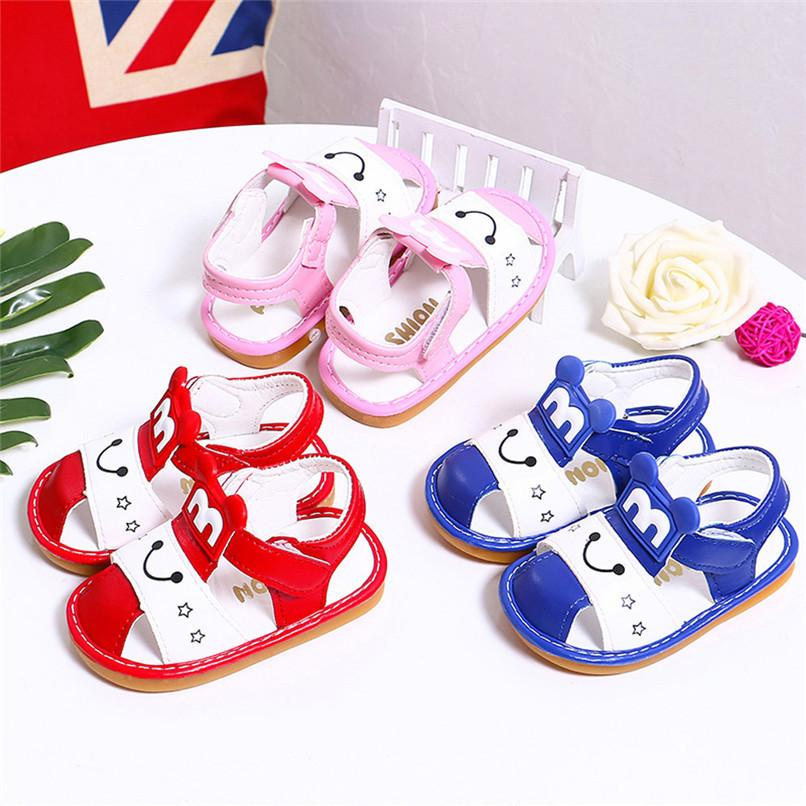 854b194ef Summer Baby Girls Shoes Newborn Toddler Baby Girls Cartoon Sandals Soft  Sole Anti Slip Shoes Baby Sandals M8Y14 FN FN Children Boots Sandles For  Kids From ...