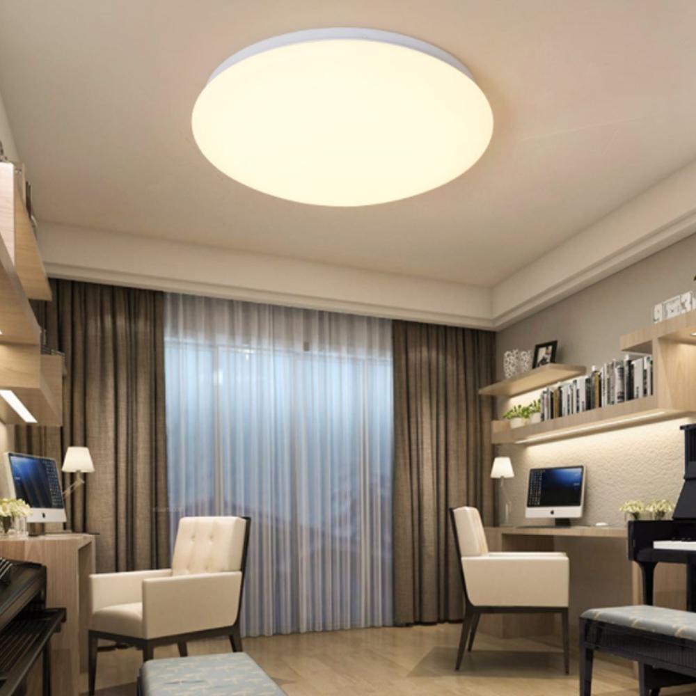 Ultra Thin Motion Sensor LED Deckenleuchte Leuchte Moderne Lampe Wohnzimmer  Schlafzimmer Küche Oberflächenmontage Fernbedienung