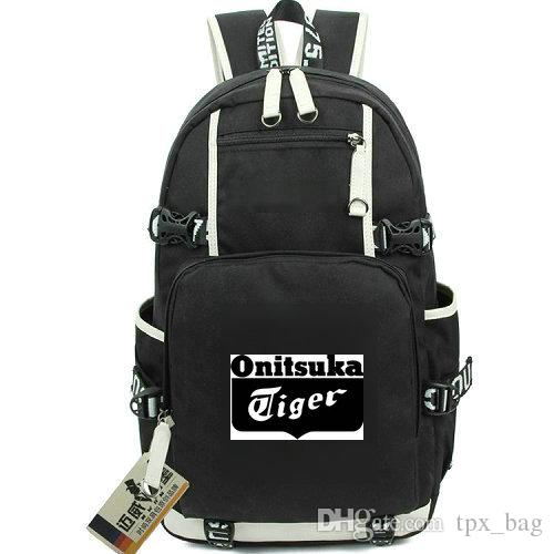 Onitsuka Tiger Rucksack Print Design Daypack New Arrive Schoolbag Casual  Knapsack Laptop Backpack Sport School Bag Out Door Day Pack Travel Backpack  Cute ... 28dda4276705d