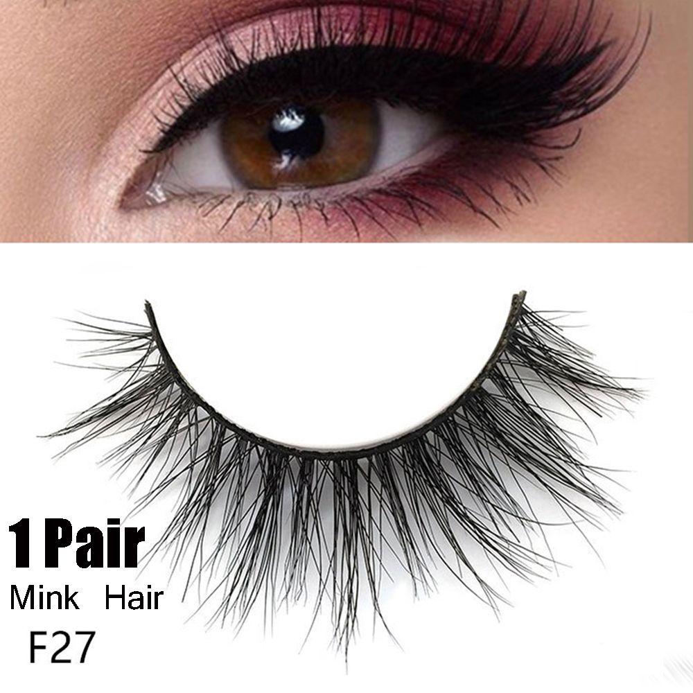 7d888d5cec3 3D Faux Mink Hair False Eyelashes Crisscross Soft Eyelash Wispy Fluffy  Handmade Lashes Extension Natural Eye Makeup Tools Permanent Eyelash  Extensions Semi ...