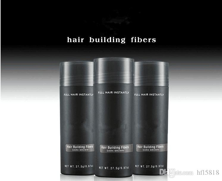 Hair Building Fibers 9 Colors Natural Keratin 27.5g 0.97oz Full Hair loss product Spray Thinning Hair Concealer