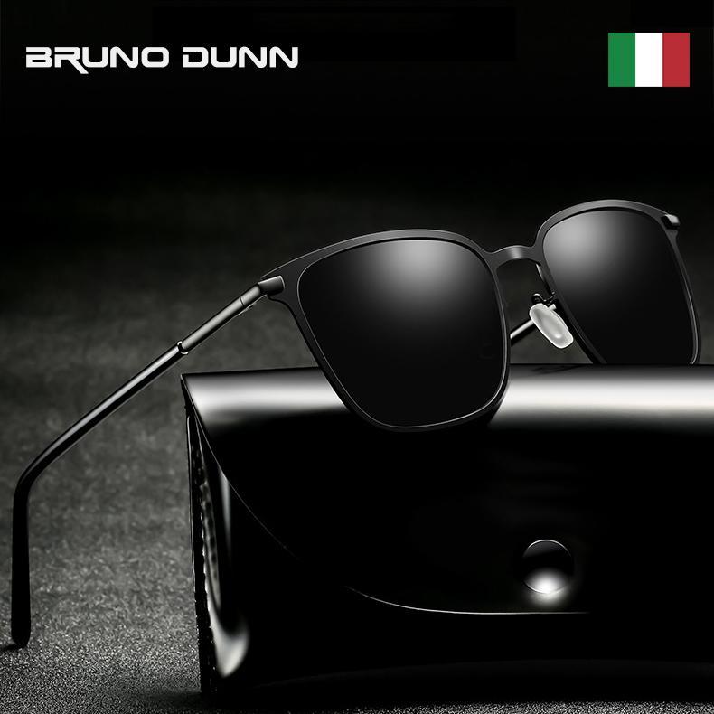 edcd70aa69 BRUNO DUNN Classic Polarized Mirror Sunglasses Men Women Retro Brand ...