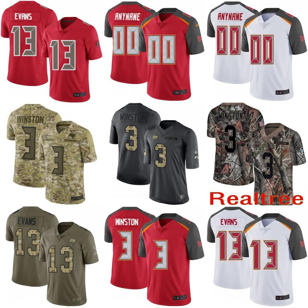differently eee3c 709ae Mens Womens Youths Limited Tampa Bay Mike Evans Ryan Fitzpatrick Mike  Alstott Kwon Alexander Buccaneers Vapor Untouchable Jersey