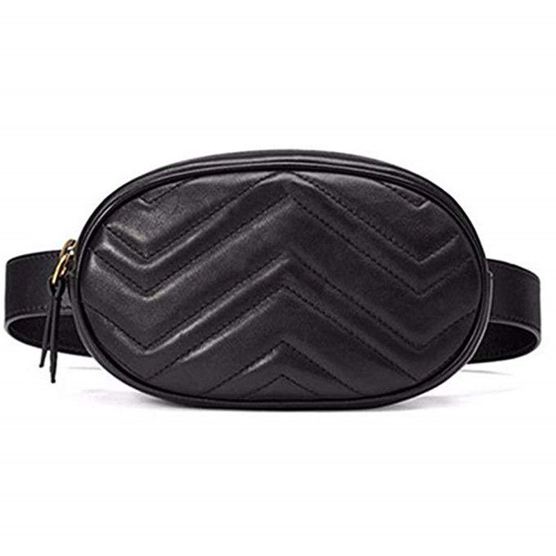 d28ecaae1ca0 Designer Women Waist Bag Elegant Fanny Pack Quilted Round Belt Waist ...