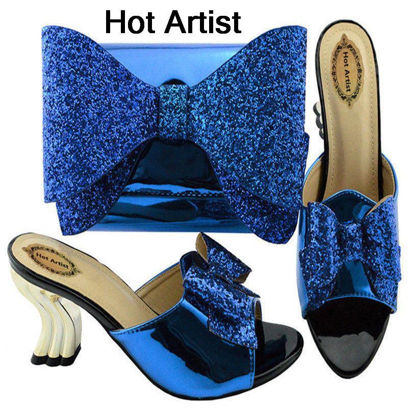 752647500 Compre Hot Artista Verão Sapatos E Conjuntos De Malas De Strass Africano  New Italian Sapatos De Salto Alto E Bolsa Set Para O Vestido De Festa  Ym001a De ...