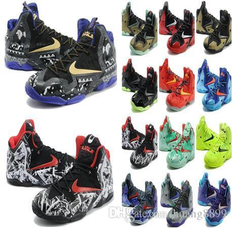 45175a93f12 2019 Top James 11 Th Generation Combat Men S Basketball Shoes Gray Outdoor  Shoes Lebron 11 Basketball Shoes Sports Size Us 7 Us 12 From Xcqing2006