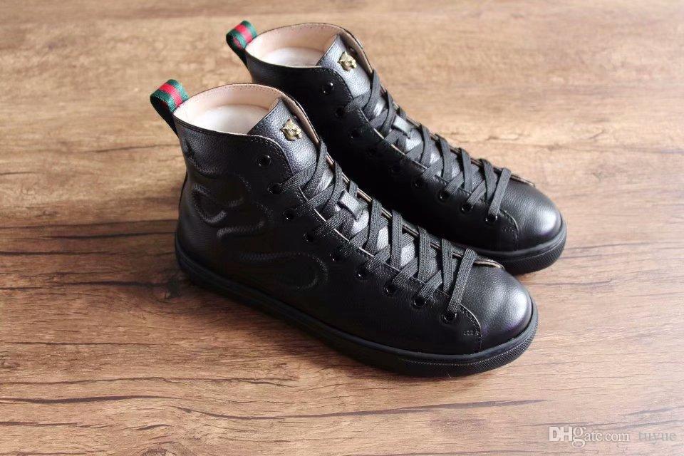 bc650475989 Acheter Chaussures De Sport Haut De Gamme Et De Luxe. Marque Sneaker En  Peau De Serpent Et Métal Pour Hommes. De  2.96 Du Tuyue