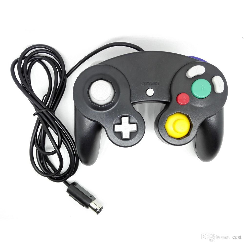 Großhandel 10 Farben Top Qualität Ngc Wired Game Controller Gamepad
