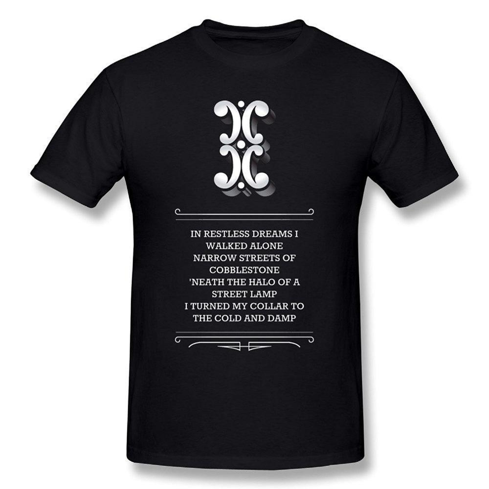 Design Your Own T Shirt Online Mens The Sound Of Silence Disturbed
