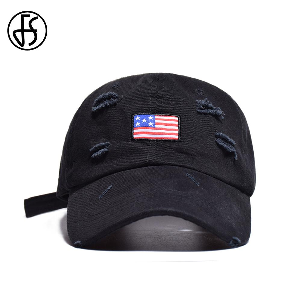 FS Designer Hat American Flag Embroidery Slipknot Trucker Hats Summer Women  Hop Hip Men Outdoor Custom Casquette Baseball Caps Custom Hats Mens Hats  From ... 0a43853f6e4