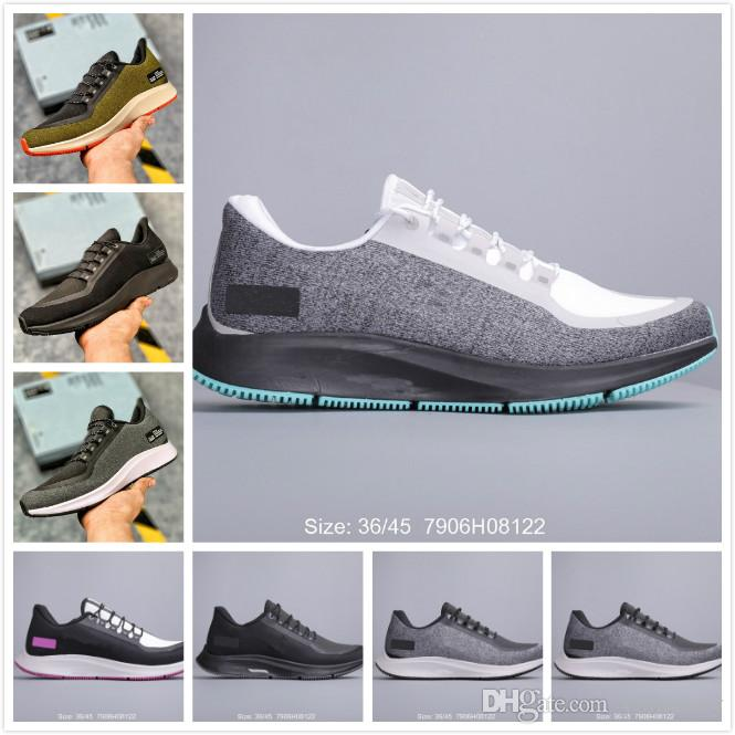 Men's PEGASUS 35 Running Shoes Breathable Mens SHIELD Trainers Sports Shoes Womens Zoom Outdoor Sports Sneakers Mans Jogging Trainer