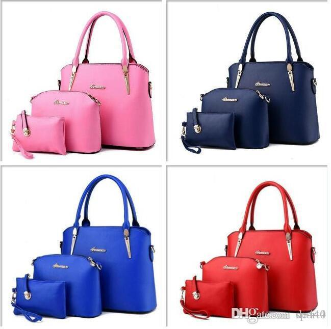 Large Capacity Bag Handbags Top Handles 2019 brand fashion designer luxury bags Tote Briefcases Backpack School Clutch handbag Scarlet Gray