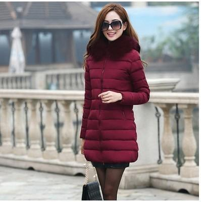 77839558c84 2019 18CM Large Real Fur Hooded Parka Women 2018 New Winter Jackets Cotton Coat  Female Luxury Real Raccoon Furs Ladies Winter Coats S18101504 From  Xingyan01 ...