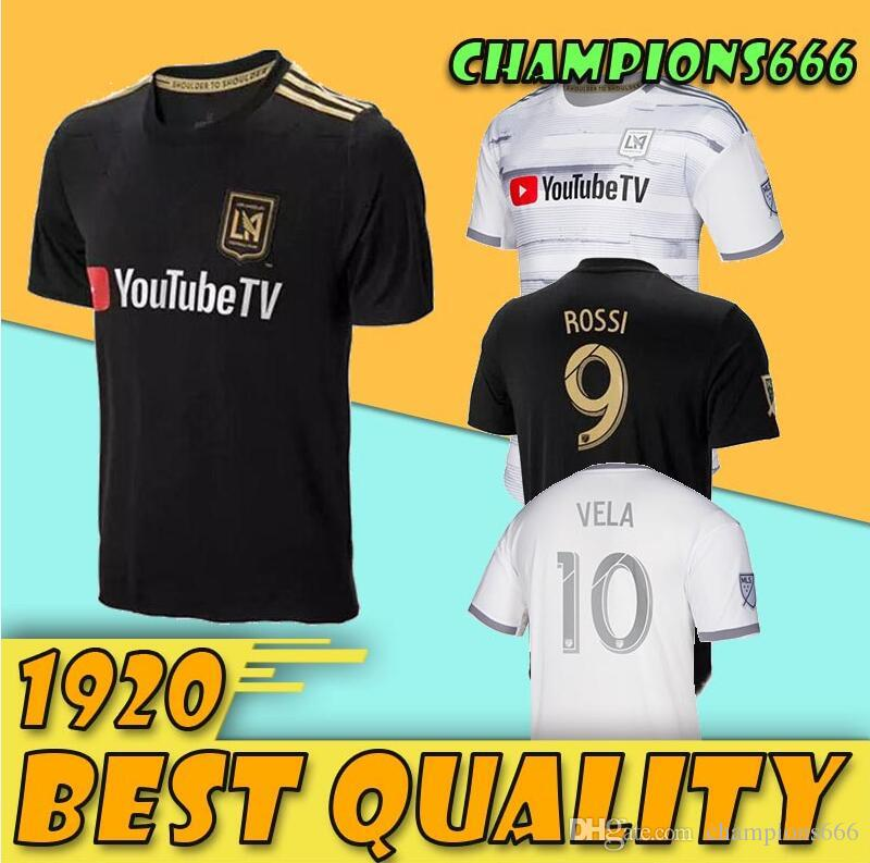 907de3e3a 2019 NEW Arrived 2019 LAFC Carlos Vela Soccer Jerseys 19 20 Home ZELAYA  GABER ROSSI CIMAN ZIMMERMAN Black Parley Primary WHITE Football Shirts From  ...