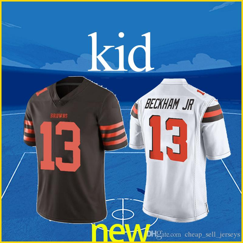 info for daed9 c453f Cleveland jersey Brown Odell 13 Beckham Jr kid jersey top quality