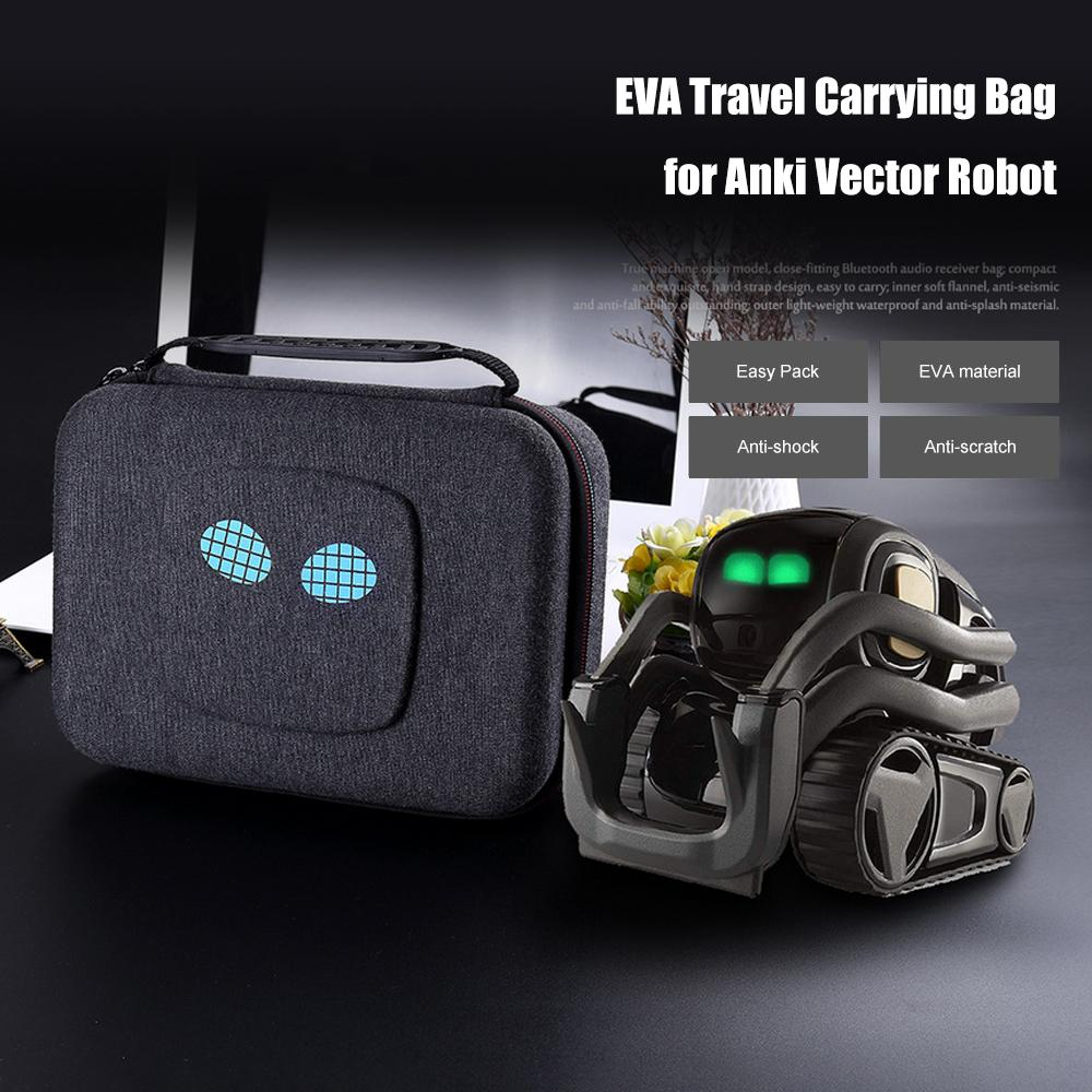2019 Newest Hard Storage Travel Carrying Box Cover Bag Case For Anki Vector  Robot Shockproof Portable Pouch Zipper Case Bag