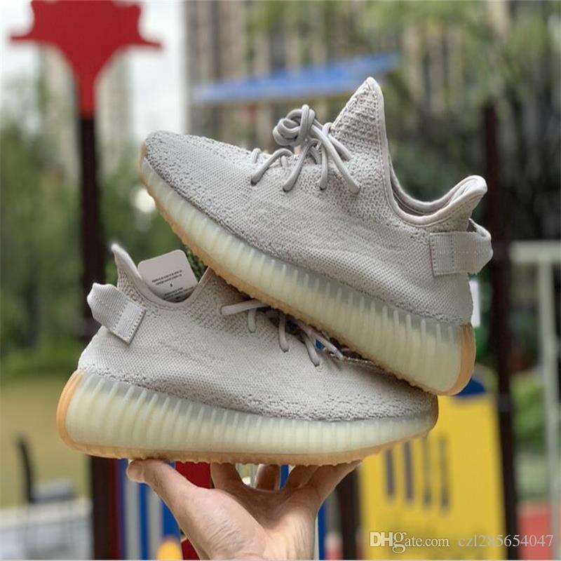 d44549ab72c 2019 Mens Shoes Butter Blue Tint 350 V2 Sesame Semi Frozen Blue Tint ...