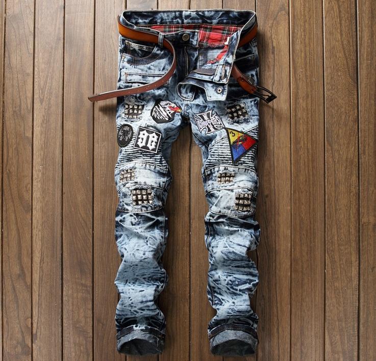 Pantalones Hombres Famosa Marca Compre Estilo Americano 7gqBB6