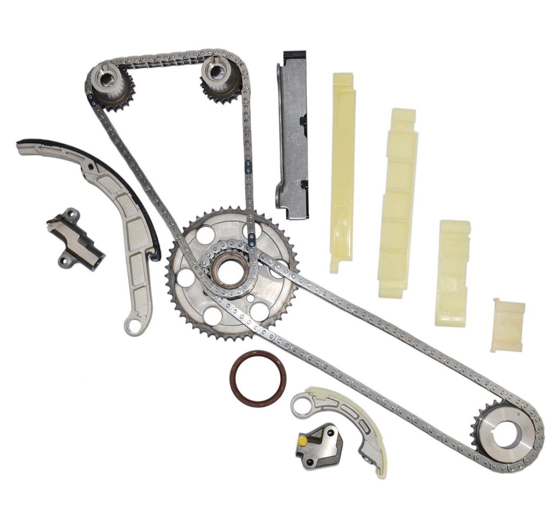 Timing Chain kit fits NISSAN NAVARA PATHFINDER D40 R51 2 5 DCI 2 5 DI 4WD  174 PS