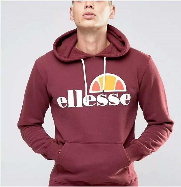 dc4d2478 Men's Designer Ellesse Fashion Brand High Quality Luxury Hoodies  Sweatershirt with Letters Printed Long Sleeve Sportwear Clothing